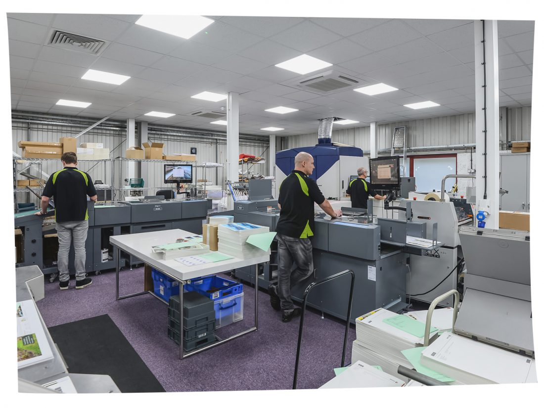 Fast turnaround, premium quality digital printing employing the latest cost effective technology