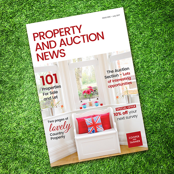 property brochure Cooper and Tanner