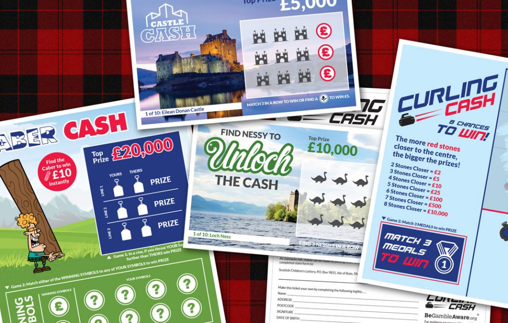 Scratchcard design and print