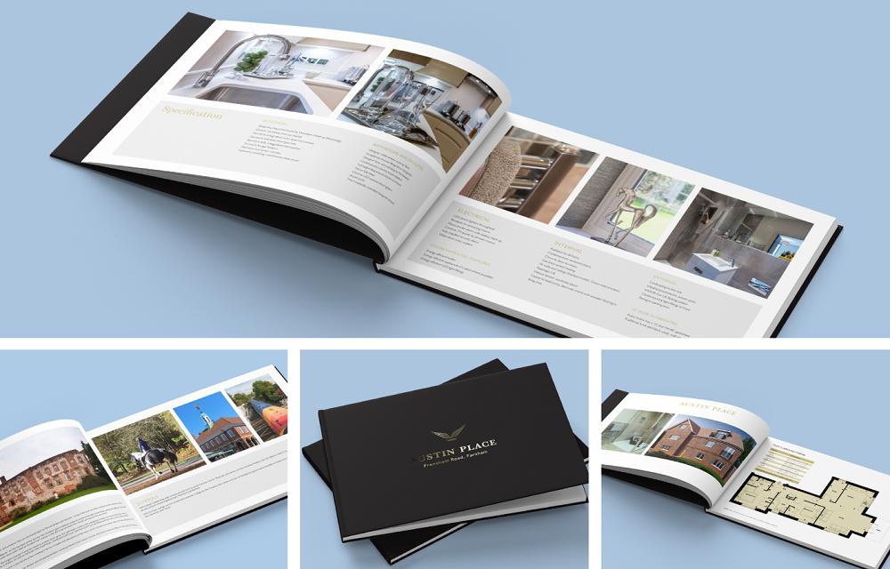 Luxury property brochure image