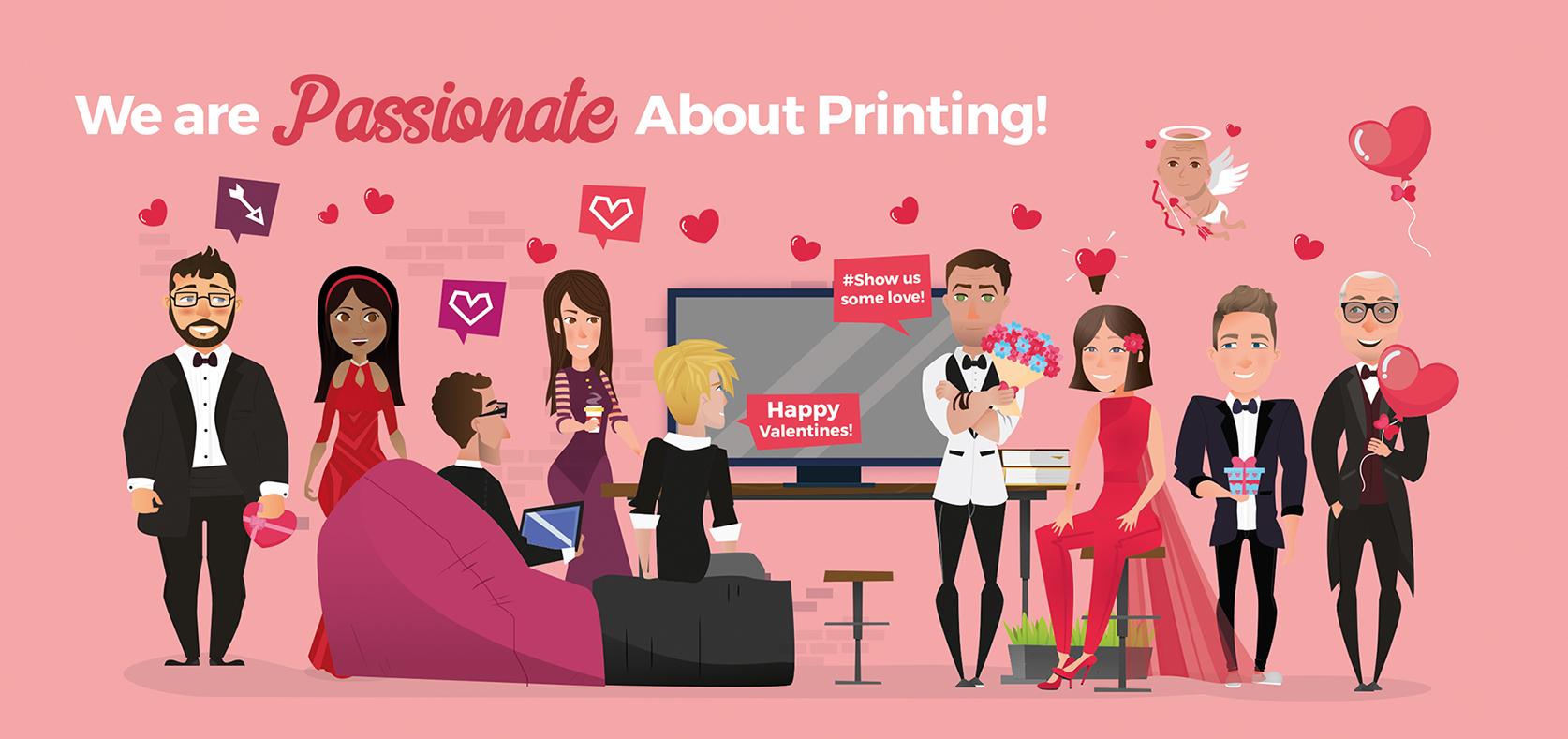 We love print
