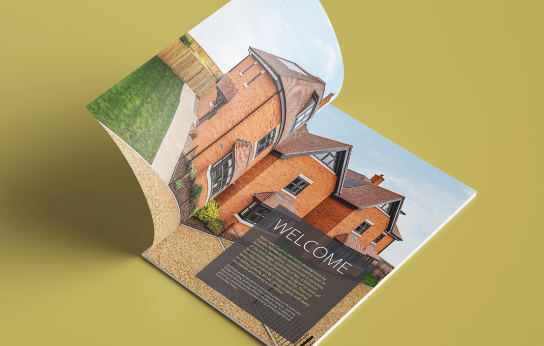 New homes brochure design