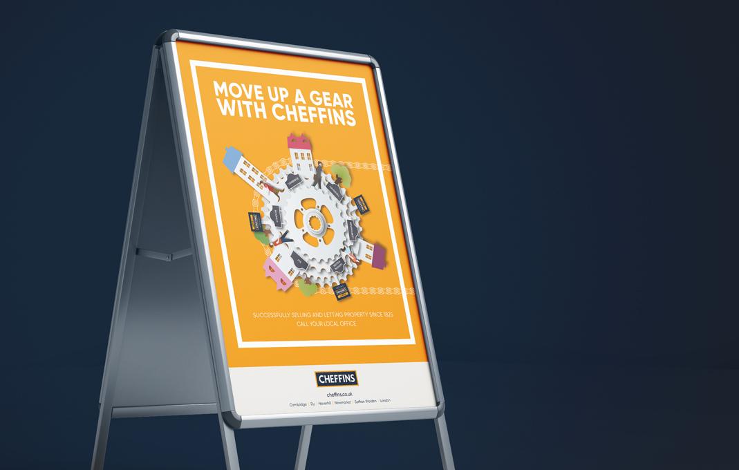 Cheffins estate agent marketing campaign
