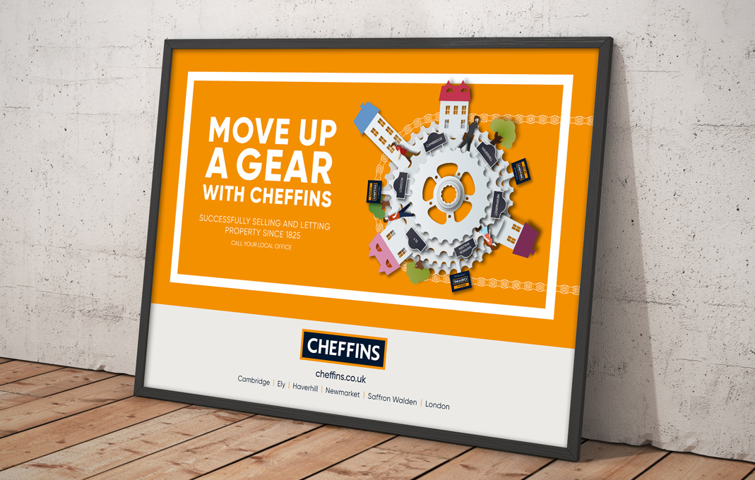 Cheffins estate agent marketing campaign