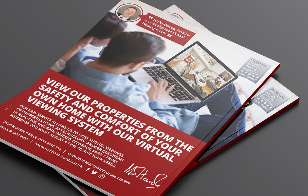 MH virtual property viewings advert